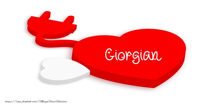 Felicitari de dragoste - Love Giorgian