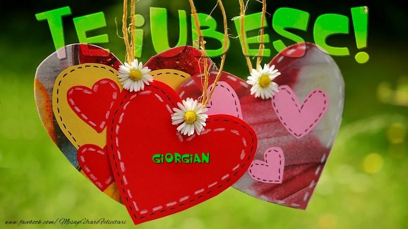 Felicitari de dragoste - Te iubesc, Giorgian!