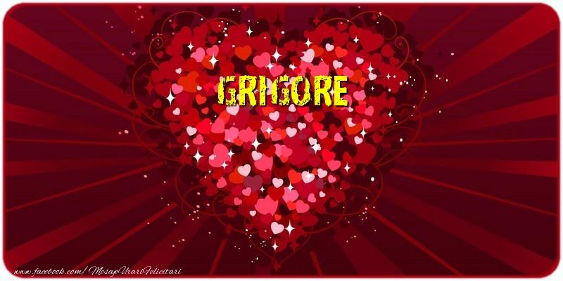 Felicitari de dragoste - Grigore