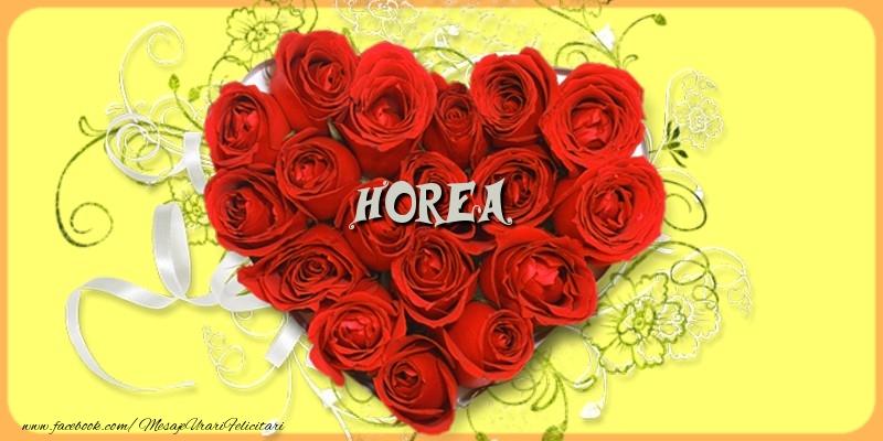 Felicitari de dragoste - Horea