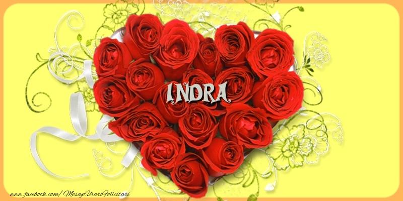 Felicitari de dragoste - Indra