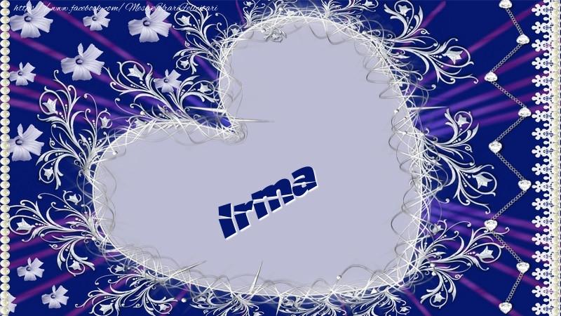 Felicitari de dragoste - Irma