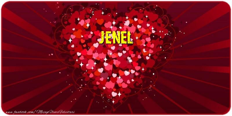 Felicitari de dragoste - Jenel