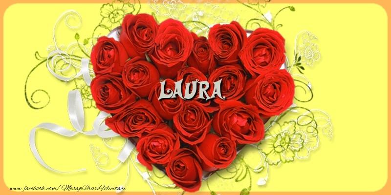 Felicitari de dragoste - Laura