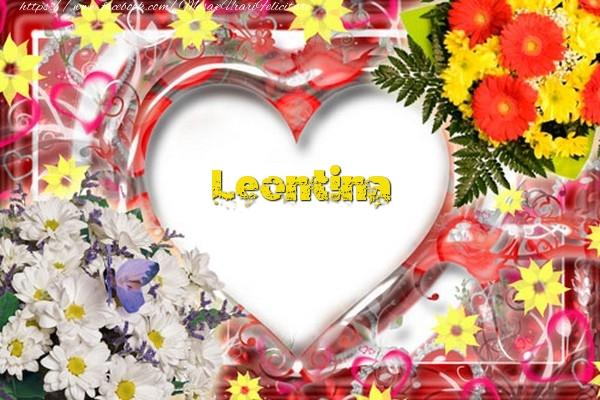 Felicitari de dragoste - Leontina