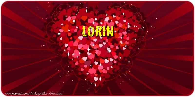 Felicitari de dragoste - Lorin