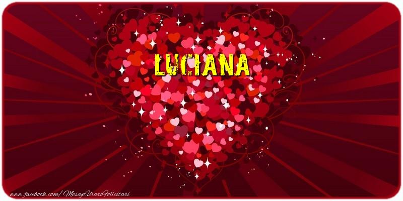 Felicitari de dragoste - Luciana