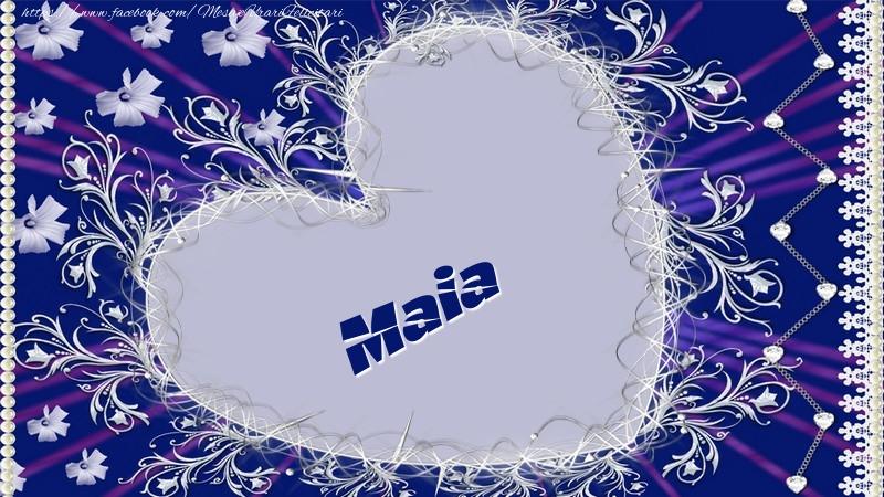 Felicitari de dragoste - Maia