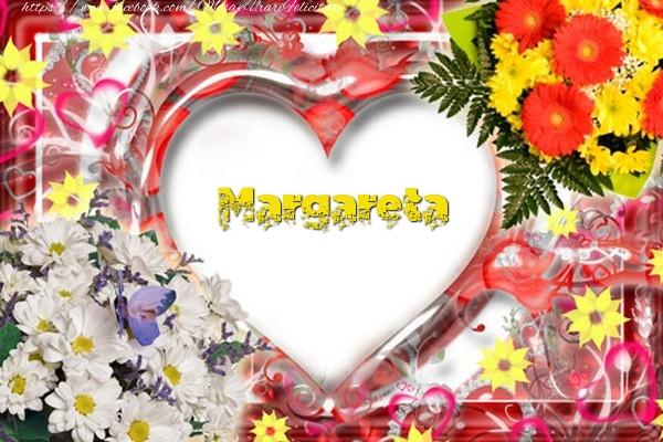 Felicitari de dragoste - Margareta