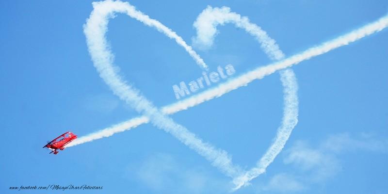 Felicitari de dragoste - Marieta