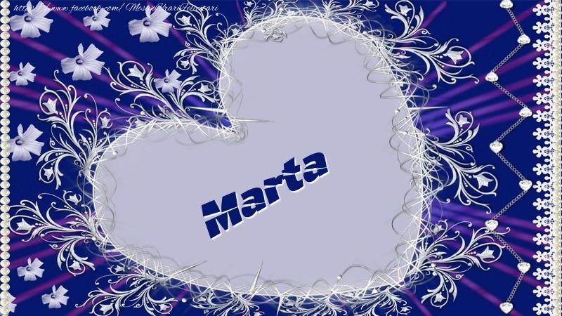 Felicitari de dragoste - Marta