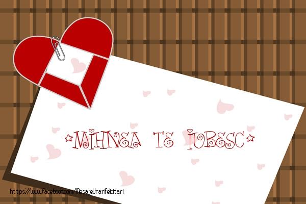 Felicitari de dragoste - !Mihnea Te iubesc!
