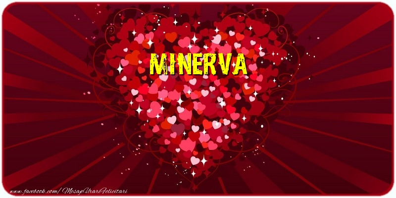 Felicitari de dragoste - Minerva