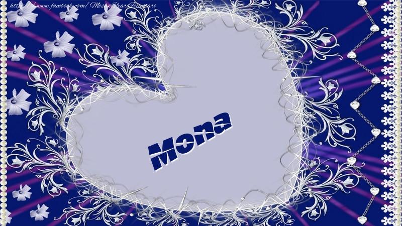 Felicitari de dragoste - Mona