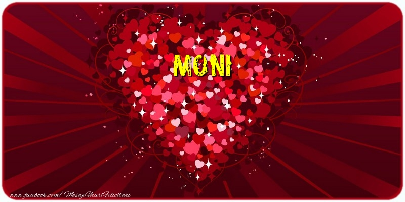 Felicitari de dragoste - Moni