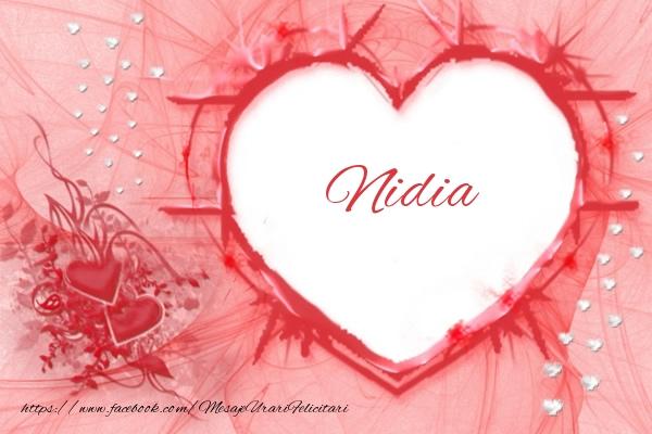Felicitari de dragoste - Love Nidia