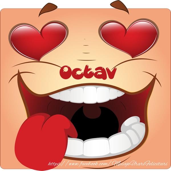 Felicitari de dragoste - Love Octav