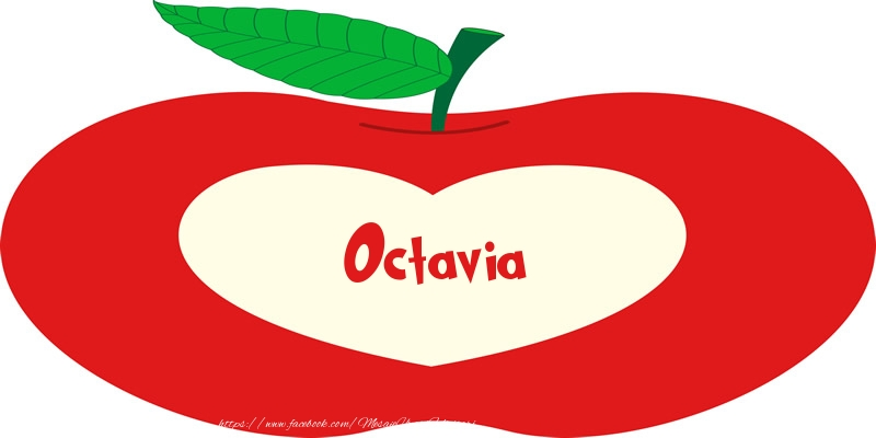 Felicitari de dragoste - O inima pentru Octavia