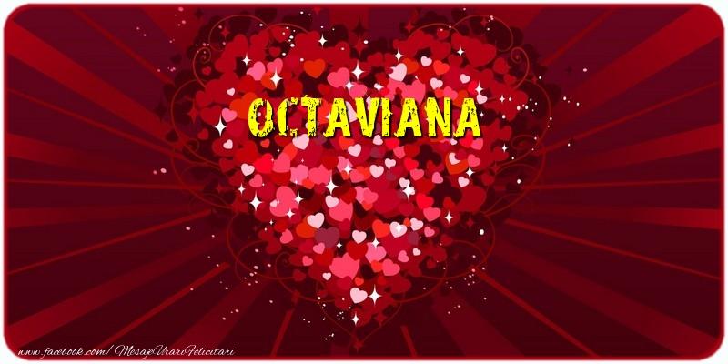 Felicitari de dragoste - Octaviana