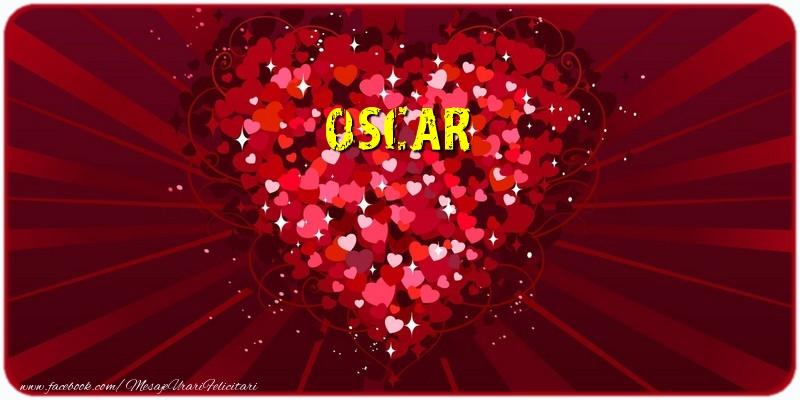 Felicitari de dragoste - Oscar