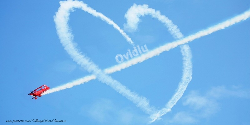 Felicitari de dragoste - Ovidiu