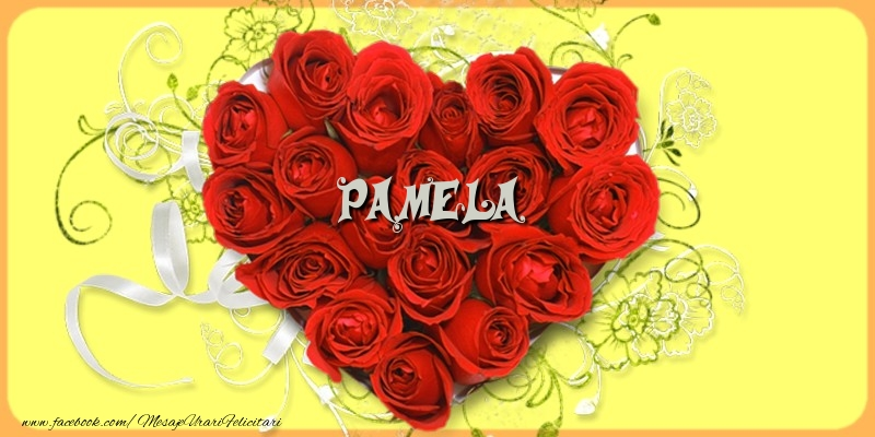 Felicitari de dragoste - Pamela
