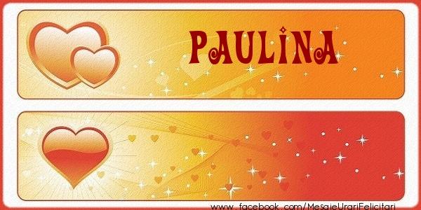 Felicitari de dragoste - Love Paulina