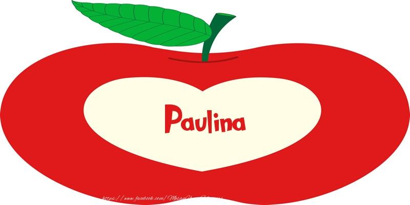 Felicitari de dragoste - O inima pentru Paulina