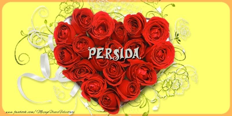 Felicitari de dragoste - Persida