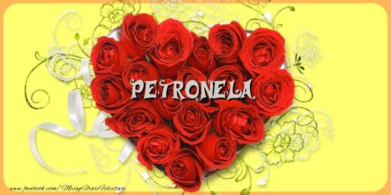 Felicitari de dragoste - Petronela