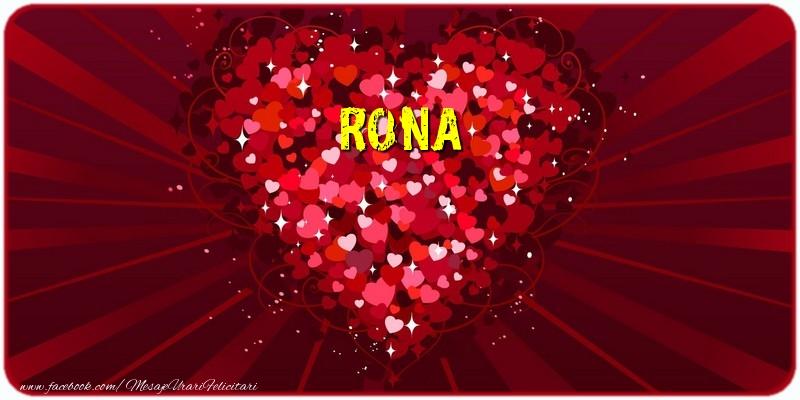 Felicitari de dragoste - Rona