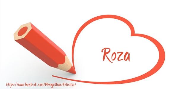 Felicitari de dragoste - Te iubesc Roza