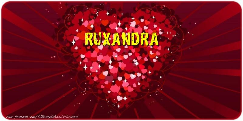 Felicitari de dragoste - Ruxandra