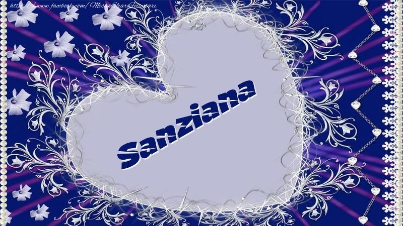Felicitari de dragoste - Sanziana