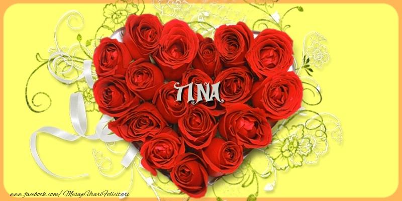 Felicitari de dragoste - Tina