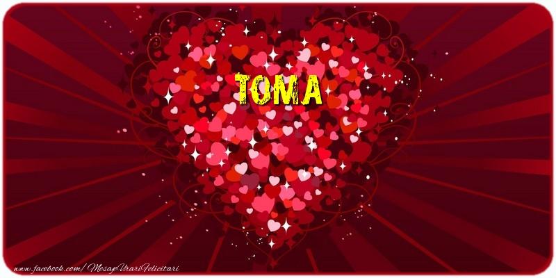 Felicitari de dragoste - Toma