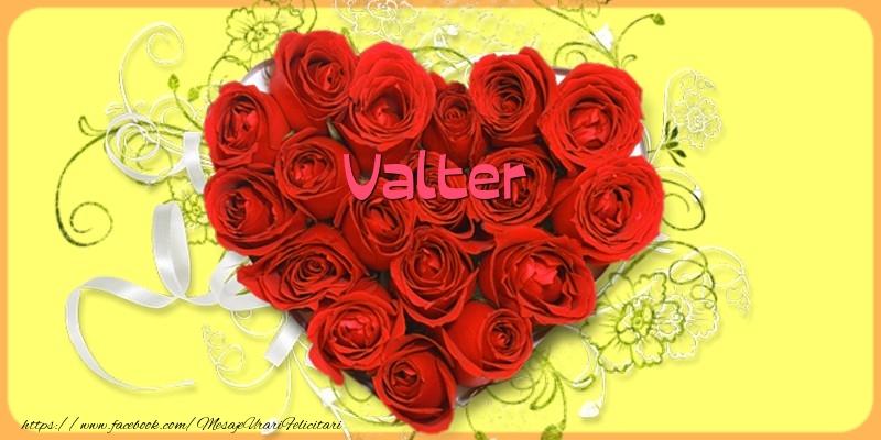 Felicitari de dragoste - Love Valter