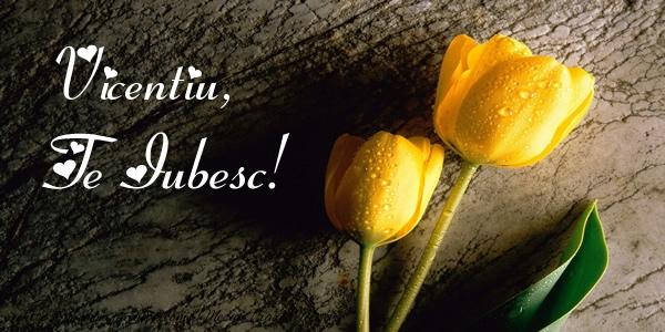 Felicitari de dragoste - Vicentiu, Te iubesc!