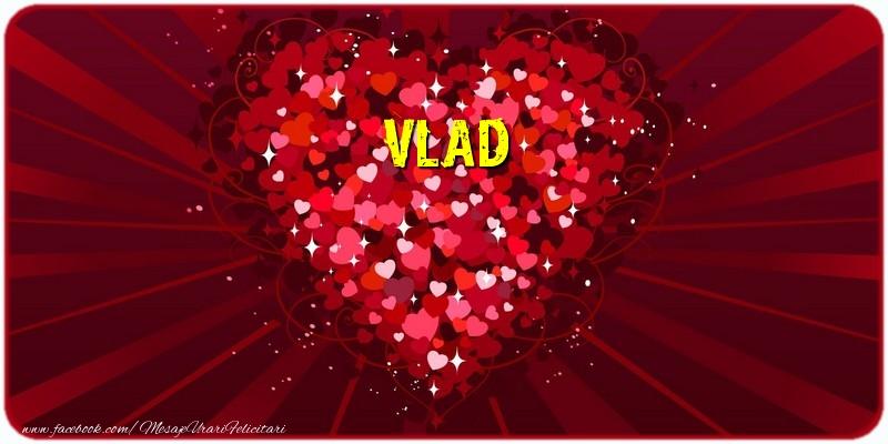 Felicitari de dragoste - Vlad
