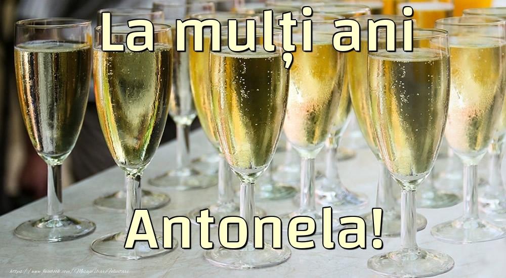 Felicitari de la multi ani - La mulți ani Antonela!
