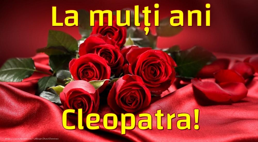 Felicitari de la multi ani - La mulți ani Cleopatra!