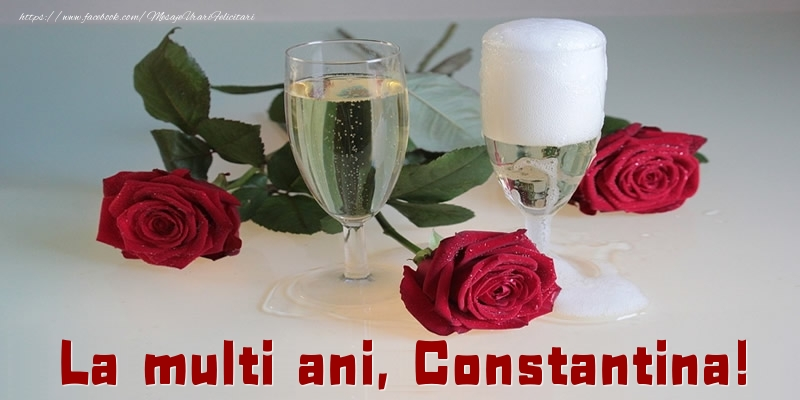 Felicitari de la multi ani - La multi ani, Constantina!