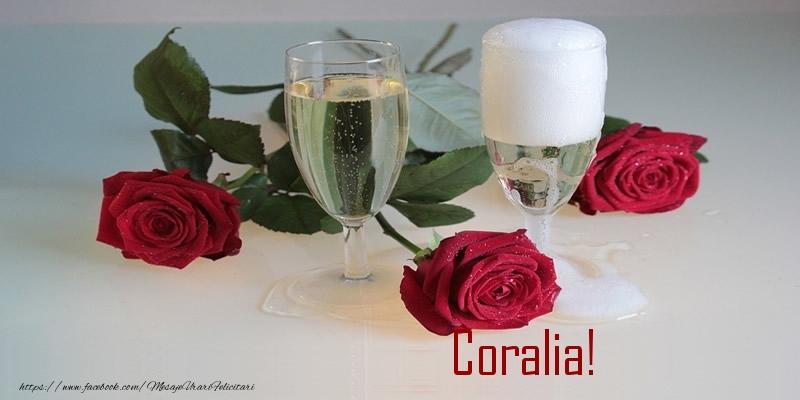 Felicitari de la multi ani - Iti dorim din toata inima si dragostea ca aceasta zi sa fie cea mai frumoasa din viata ta ... La Multi Ani Coralia!