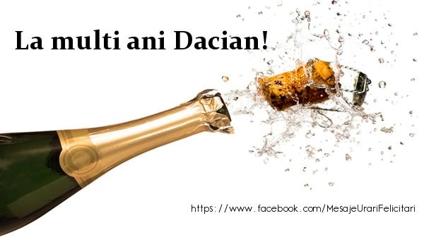 Felicitari de la multi ani - La multi ani Dacian!
