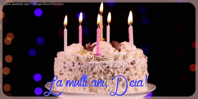 Felicitari de la multi ani - La multi ani, Deia!