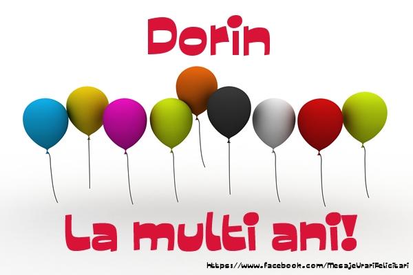 Felicitari de la multi ani - Dorin La multi ani!