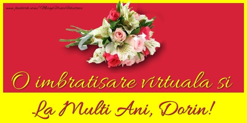 Felicitari de la multi ani - O imbratisare virtuala si la multi ani, Dorin