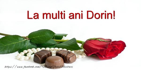 Felicitari de la multi ani - La multi ani Dorin!