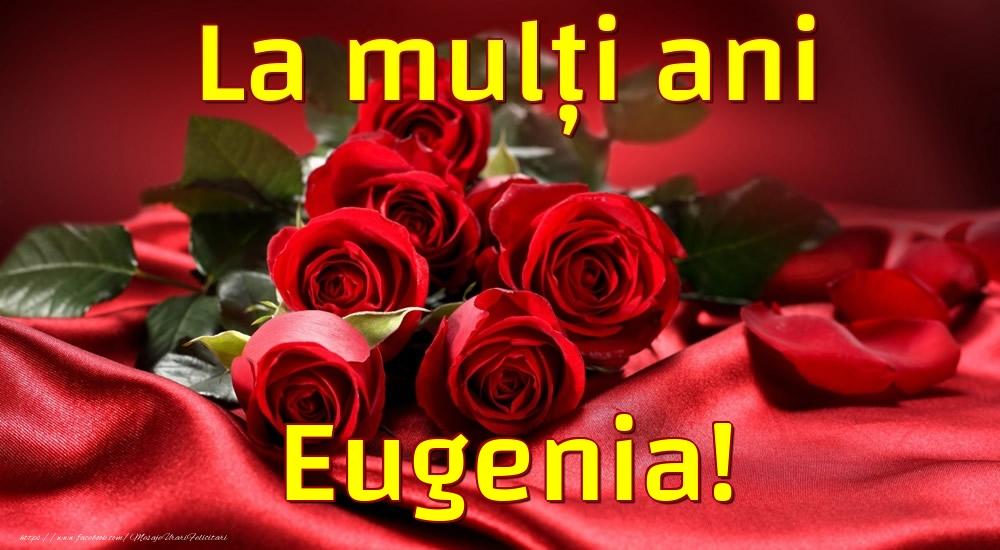 Felicitari de la multi ani - La mulți ani Eugenia!