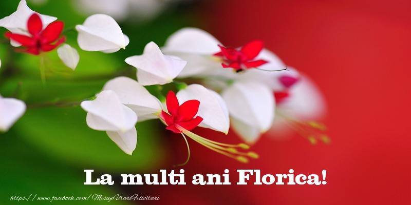 Felicitari de la multi ani - La multi ani Florica!